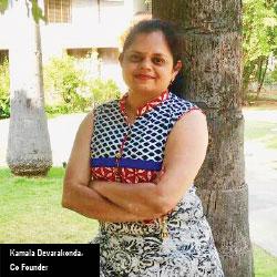 Kamala Devarakonda,Co-Founder