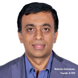 Mahesha Cukkemane ,  Founder & CEO
