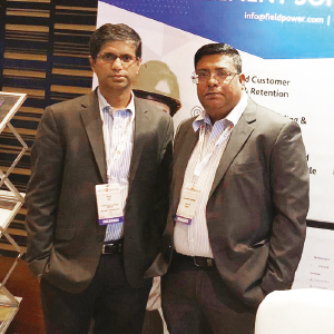 Paul Raj and Venkatesh Sundaram,CTO and CEO