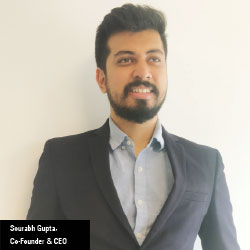 Sourabh Gupta,  Co-Founder & CEO
