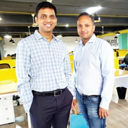 Pratyush Mulukutla & Ashok Ganapam,Co-Founders