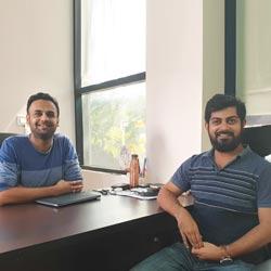 Chethan KR & Ashish Koushik,Co founders