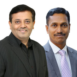 Pankaj  Sachdeva  Country Market Director - Telecom and Energy ,   K Suresh  Babu,  Director - Tower and Telecom