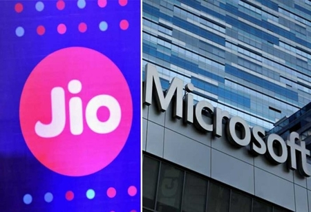 Microsoft teams up with India's Jio in cloud push