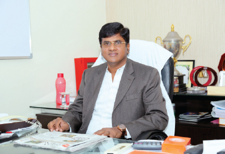 Garapati Radhakrishna,Chairman & Managing Director, RKEC Projects