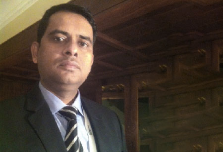Chander Sharma, Head IT, Accutest Research Laboratories,