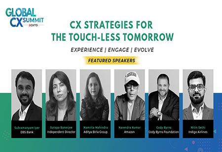 Global CX Summit: CX Strategies in the Touchless Tomorrow