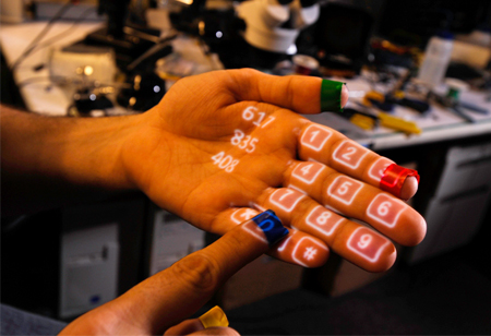 Sixth Sense: A Wearable Gesture Interface for the future