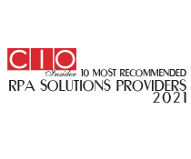 10 Most Recommended RPA Solutions Providers - 2021