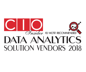 10 Most Recommended Data Analytics Solution Vendors - 2018