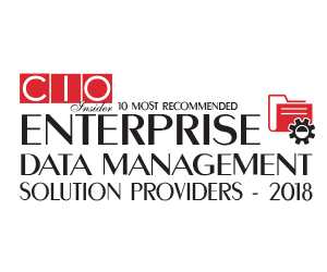 10 Most Recommended Enterprise Data Management Solution Providers – 2018